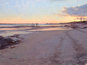 """Low Tide Silence"" - 12""x 16"" - Oil"