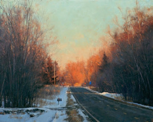 """Right or Left?"" - 24"" x 30"" - Oil  (2011 Oil Painters of America National - Bronze Medal)"