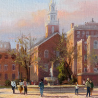 The Old North Church - Boston - w