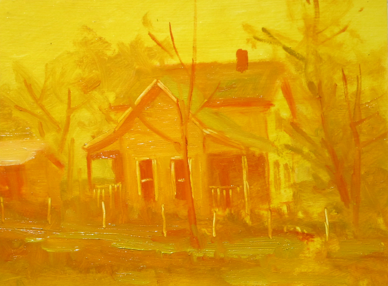 The Most Famous Paintings Painting With The Neighbors John Pototschnik Fine Art