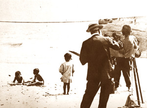 Sorolla painting children on the beach II