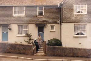 House in which I was born in St. Ives, Cornwall, England