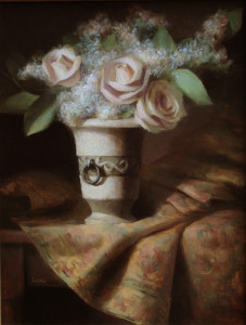 """Delicately Crowned"" - 18""x 14"" - Oil   (Award)"