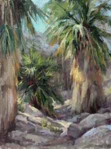 "Honorable Mention - Iryna Milton - ""Indian Canyon"" - 16""x 12"""