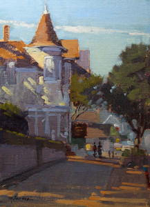 "Honorable Mention - Mark Farina - ""Gosby House, Pacific Grove"" - 12""x 9"""