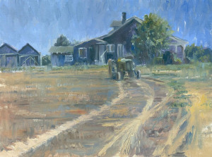 "Award of Merit - Randy Saffle - ""Middle of Nowhere"" - 12""x 16"""