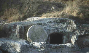 How the tomb may have looked.