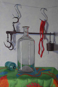 "Melissa Hefferlin - ""In Balance"" - 32"" x 21.5"" - Oil"
