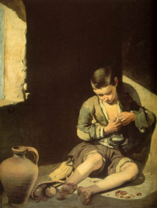 "Bartolome Esteban Murillo (1617-1682) - ""The Young Beggar"" - 52.76"" x 39.37"" - Oil"