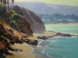 "Rusty Jones - ""Coastal Glare"" - 18"" x 24"" - Oil"