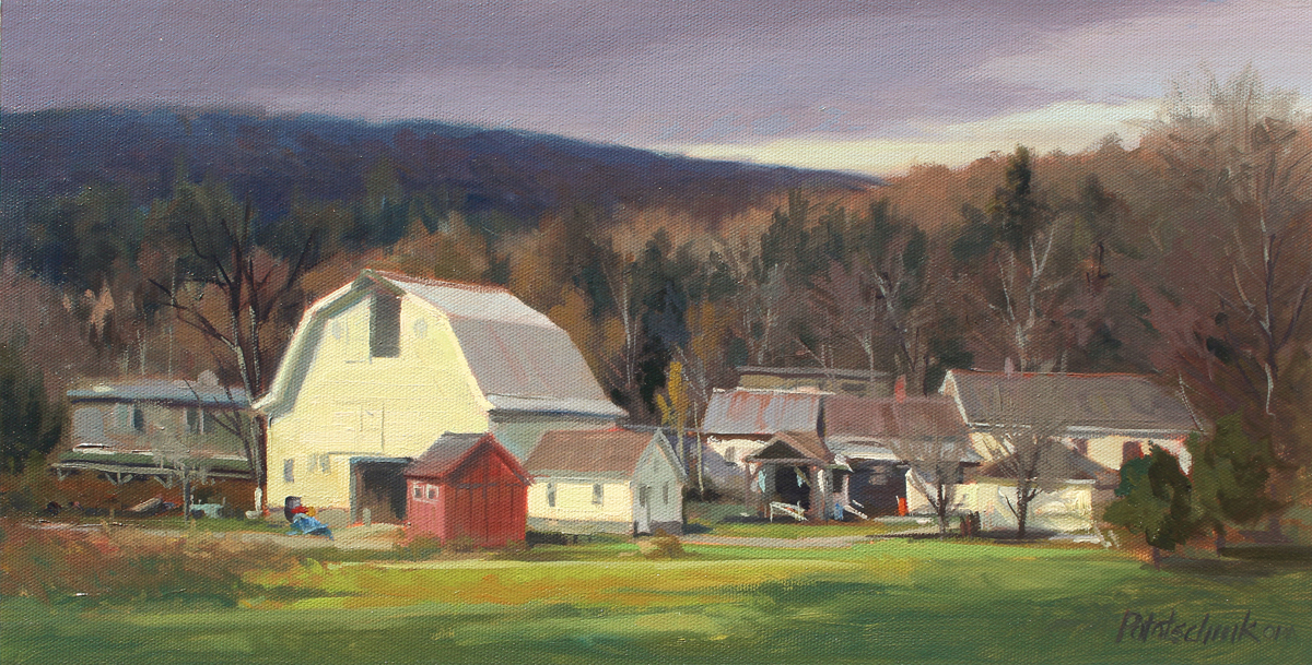New England Light - 8.88 x 17.5