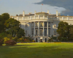 The White House, South Portico - 16 x 20 - w