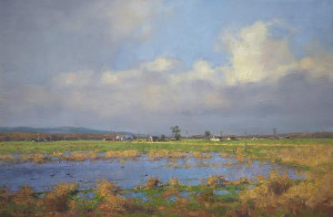 """Flooded Field"" - 20"" x 30"" - Oil"