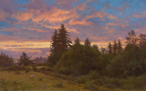 """June Twilight"" - 30"" x 48"" - Oil"