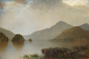 "John Kensett - ""Lake George"" - 44.13"" x 66.38"" - Oil (1869)"