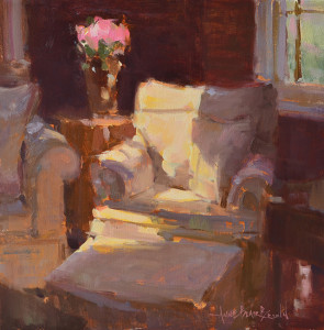 "Anne Blair Brown - ""Favorite Corner"" - 16"" x 16"" - Oil"