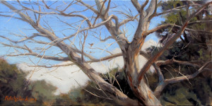 "John Pototschnik - ""Glory Days Have Passed You By"" - 10"" x 20"" - Oil"