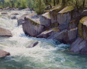 "Kathleen Dunphy - ""A Force of Nature"" - 16"" x 20"" - Oil"