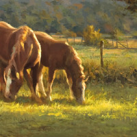 Green Pastures, Good Companion - 9x23.75