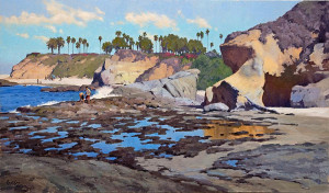 """Looking for Treasure"" - 48"" x 28"" - Oil"