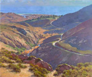"""Malibu Canyon"" - 30"" x 36"" - Oil"