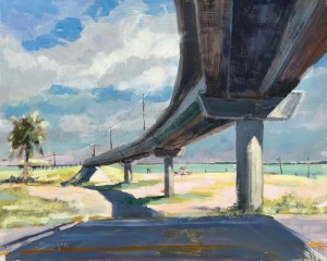 """Walkway to the Beach"" - 16"" x 20"" - Oil"