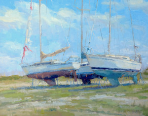 """Torn Sails"" - 16"" x 20"" - Oil"
