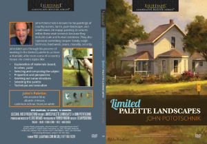 "Here's ""Country Living"" on the cover of the ""Limited Palette Landscapes"" DVD. The instructional video contains 15 hours of intensive, concise instruction. I demonstrate my painting process from selection of the canvas to the final brush stroke. Click on image to order your copy today."