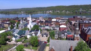 The beautiful town of Maysville, KY.