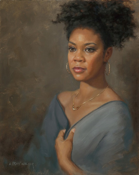 """""""The Hidden Person of the Heart"""" - 20"""" x 16"""" - Oil  (Top Ten 2016, Portrait Society of America Texas)"""