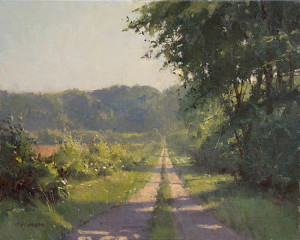 """Monday Morning"" - 16""x 20"" - Oil (Best of Show and Artist's Choice Award - Door County Plein Air Festival 2012)"
