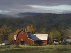 """Vermont Barn"" - 12""x 16"" - Oil   (Finalist, Art Renewal Center Salon International 2015)"