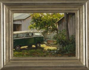 Yard Art - 10 x 14 - Framed
