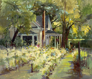 """(Award of Excellence) - Michele Usibelli - """"Summer Day"""" -22""""x 25"""" - Oil"""