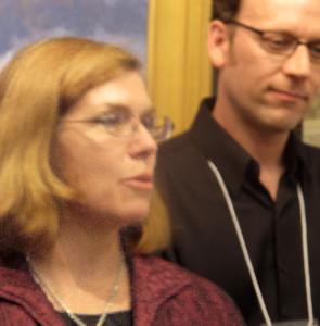 OPA Vice President, Ken Cadwallader, and Executive Director, Kathryn Beligratis