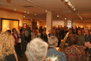 Opening reception of the Coppini Academy Membership Show held at Greenhouse Gallery
