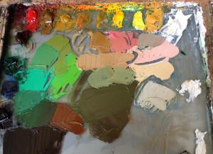 """Palette used for """"Jillian"""""""