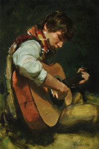 """""""Jonathan"""" - 24""""x 16"""" - Oil...Gold Medal, 22nd Oil Painters of America National Exhibition"""