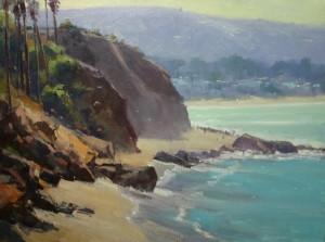 "Rusty Jones - ""Coastal Glare"" - 18""x 24"" - Oil"