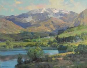 "Kevin Macpherson - ""Mountain View"" - 24""x 30"" - Oil"