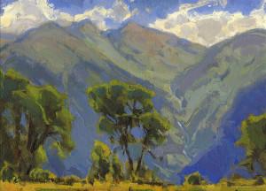 "Bill Gallen - ""Valley Floor, Telluride"" - 9""x 12"" - Oil (Award of Excellence)"
