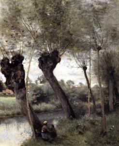 """""""Saint Nicholas les Arras"""" - 18.39""""x 15"""" - Oil (1871-72)"""