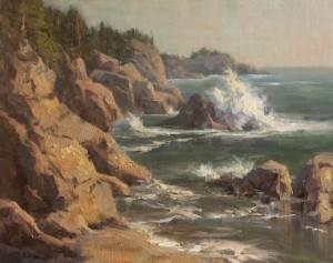 """""""Coastal Harmonies"""" - 24""""x 30"""" - Oil"""