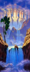 """Zion"" - 32""x 14"" - Acrylic (Airbrush)"