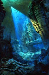 """Deep Dive"" - 14""x 9"" - Digital Painting"