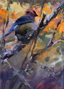 "John Cook - ""Kaleidoscopic"" - 9""x 12"" - Oil"