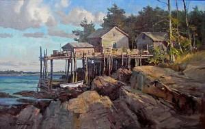 """Maine Coast"" - 16""x 24"" - Oil"