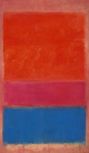 "Mark Rothko - ""No.1 (Royal Red and Blue)"" - Oil - 1954"