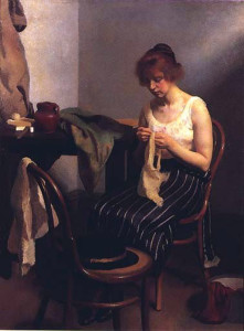 """Robert Hale Ives Gammell - """"The Seamstress"""""""