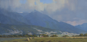 """""""Clearing"""" - 12""""x 24"""" - Oil"""